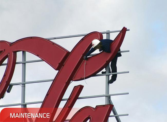 Adwaa Sign Center: Repair and Maintenance of any signage dubai and all over in U.A.E.